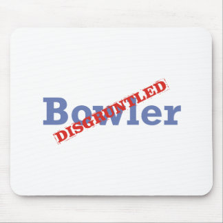 Bowler / Disgruntled Mouse Pad