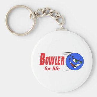 BOWLER FOR LIFE KEY CHAIN
