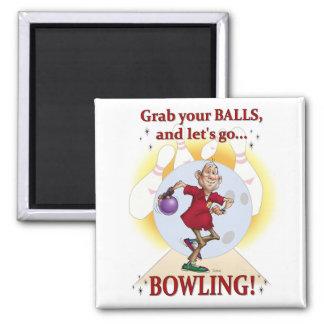 Bowler Fridge Magnet
