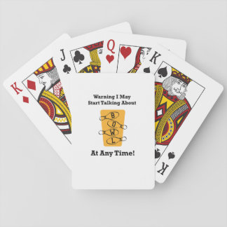 Bowler Funny Bowling Gift Playing Cards