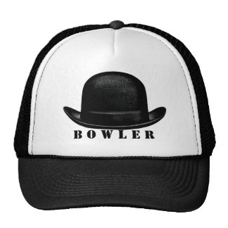 Bowler Trucker Hat