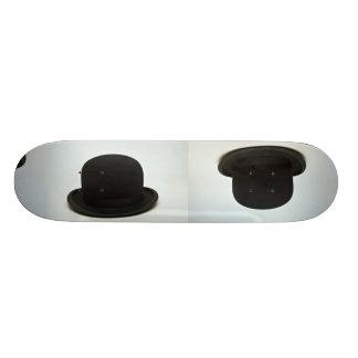 Bowler hat skateboard