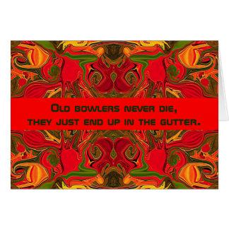 bowler humor card