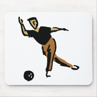 Bowler Mouse Pad