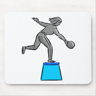Bowler Trophy Mousepad