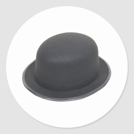 BowlerHat080909 Classic Round Sticker