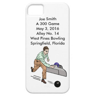 Bowlers 300 Game, Customizable iPhone SE/5/5s Case