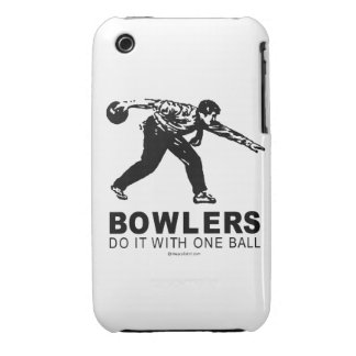 Bowlers iPhone 3 Case-Mate Case