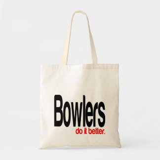 Bowlers do it Better Tote Bag
