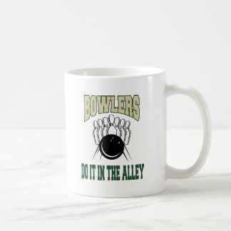 Bowlers Do It In The Alley Coffee Mug