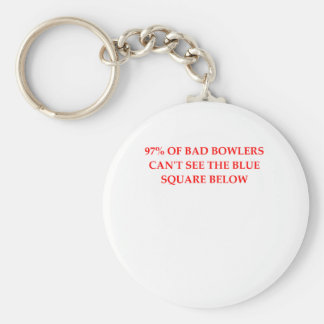 BOWLERS.png Basic Round Button Keychain