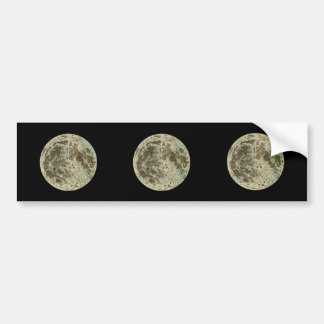 Bowles' Selenography or a Map of the Moon - 1780 Bumper Sticker
