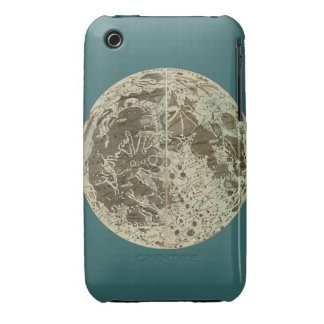 Bowles' Selenography or a Map of the Moon - 1780 iPhone 3 Case