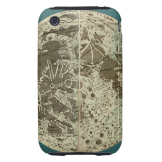 Bowles' Selenography or a Map of the Moon - 1780 iPhone 3 Tough Cover