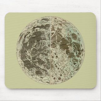 Bowles' Selenography or a Map of the Moon - 1780 Mouse Pad