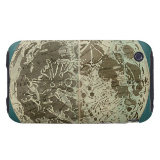 Bowles' Selenography or a Map of the Moon - 1780 Tough iPhone 3 Cover