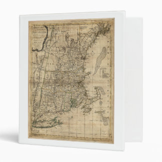 Bowles's Map the Seat of War in New England (1776) 3 Ring Binder
