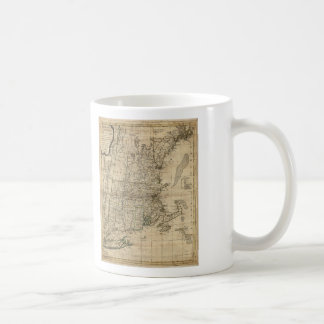 Bowles's Map the Seat of War in New England (1776) Coffee Mug