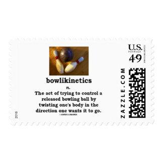 Bowlikinetics Noun Act Of Twisting One's Body Postage