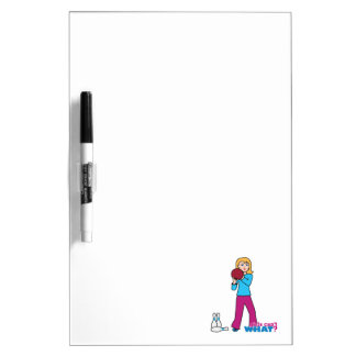 Bowling 1 dry erase whiteboards