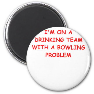 BOWLING 2 INCH ROUND MAGNET