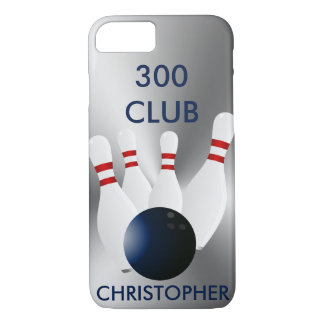 Bowling 300 Club Personalized iPhone 7 Case