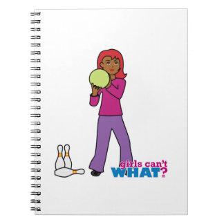 Bowling 4 spiral notebook
