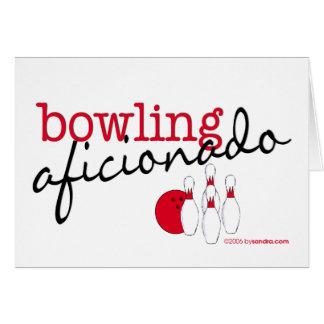 Bowling Aficionado Card