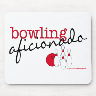 Bowling Aficionado Mouse Pad