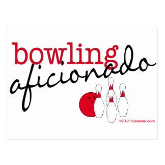 Bowling Aficionado Postcard
