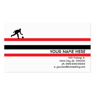 bowling : air star Double-Sided standard business cards (Pack of 100)