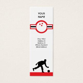 bowling : air star mini business card