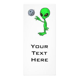 bowling alien rack card