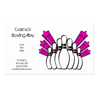 Bowling Alley Business Card
