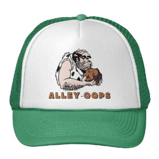 Bowling Alley oops! Caveman Trucker Hat