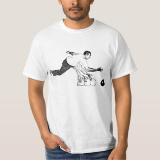 Bowling Alley Tenpin Ball Release T-Shirt