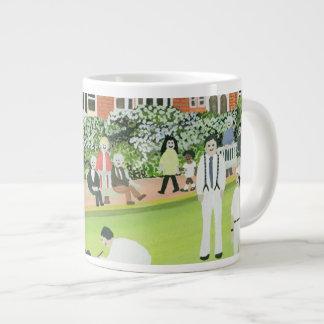 Bowling at Eastbourne Large Coffee Mug