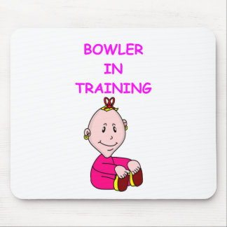 bowling baby mouse pad