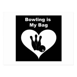 Bowling Bag Postcard