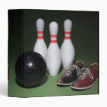 Bowling Ball 3 Ring Binders
