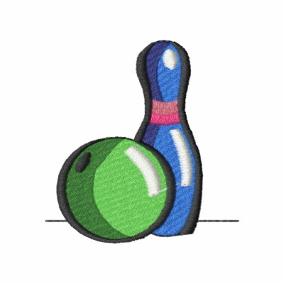 Bowling Ball and Pin Hoodie