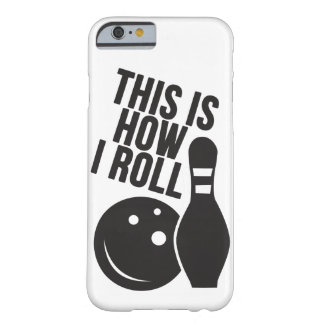 Bowling ball and pin. I love bowling. Barely There iPhone 6 Case