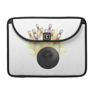 Bowling Ball And Pins Sleeve For MacBooks
