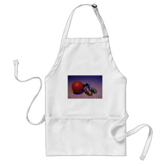 Bowling Ball And Shoes Adult Apron