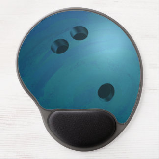 Bowling Ball Blue Gel Mouse Pad
