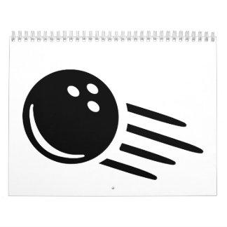Bowling ball calendar