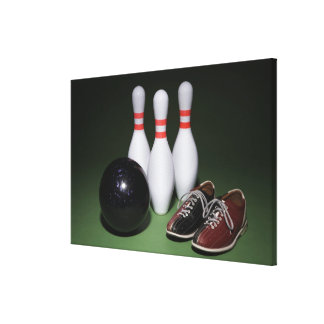 Bowling Ball Canvas Print