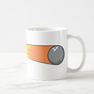 Bowling Ball Comet Coffee Mug