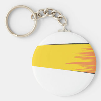 Bowling Ball Comet Keychain