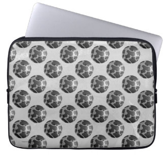 Bowling Ball Cow Gray Computer Sleeve